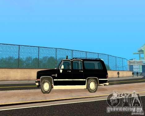 Сhevrolet Suburban 1986 для GTA San Andreas вид слева