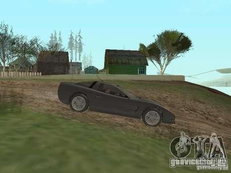 Cheetah из ГТА 4 для GTA San Andreas вид слева