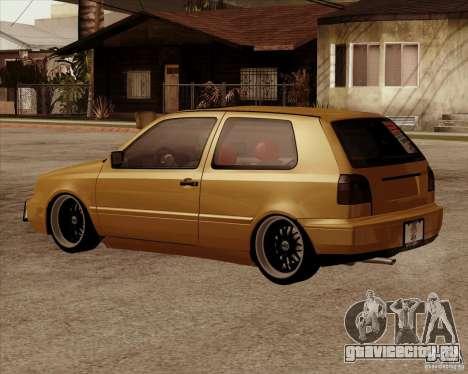 VW Golf MK 4 low & slow для GTA San Andreas вид слева
