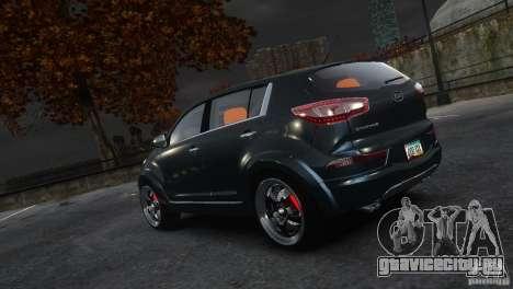 Kia Sportage 2010 v1.0 для GTA 4 вид слева