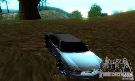 Dodge Charger SRT8 Mopar для GTA San Andreas вид справа