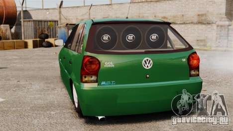 Volkswagen Gol G4 Edit для GTA 4 вид сзади слева