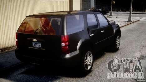 Chevrolet Tahoe 2007 для GTA 4 вид снизу