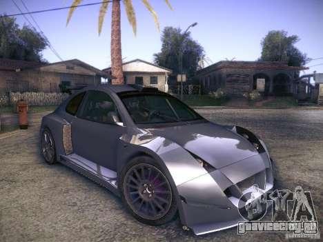 Colin McRae R4 для GTA San Andreas вид справа