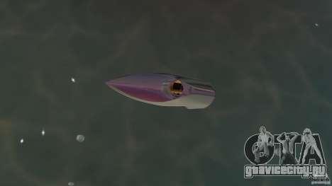 Bugatti Sang Bleu Speedboat для GTA Vice City вид справа