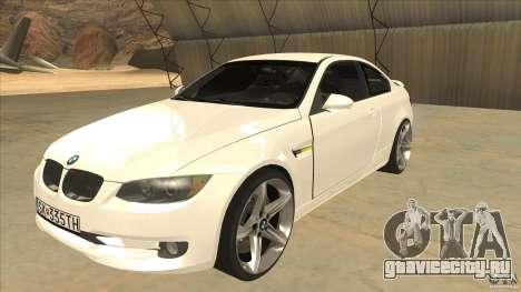 BMW 335i Coupe 2011 для GTA San Andreas