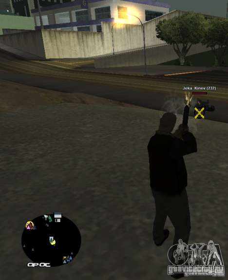 HUD №2 для GTA San Andreas