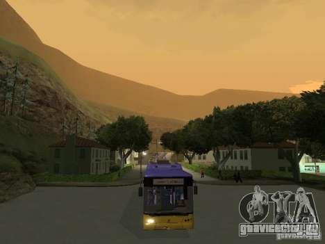 Троллейбус ЛАЗ Е-183 для GTA San Andreas вид справа