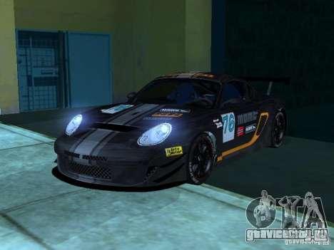 Porsche Cayman S NFS Shift для GTA San Andreas вид сбоку