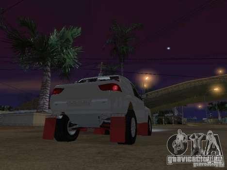 Mitsubishi L200 Triton для GTA San Andreas вид сзади слева