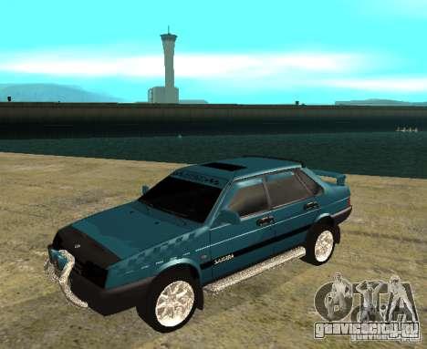 ВАЗ 21099 sparco tune для GTA San Andreas