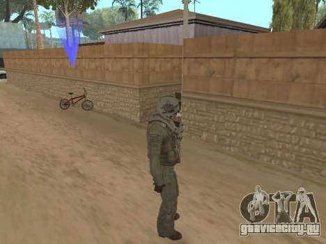 Пилот истребителя для GTA San Andreas второй скриншот