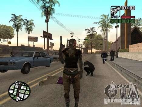 Zombe from Gothic для GTA San Andreas второй скриншот