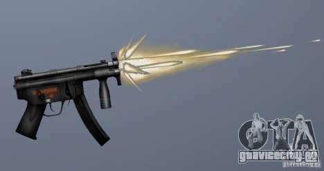 H&K MP5K для GTA San Andreas четвёртый скриншот