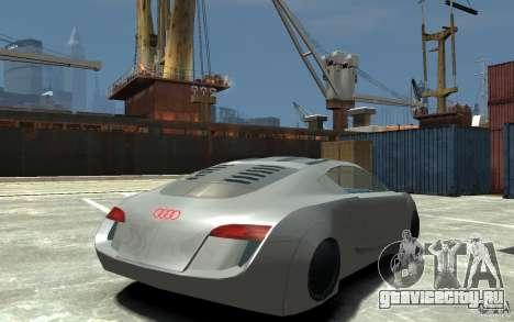 Audi RSQ Concept для GTA 4 вид справа