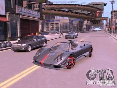 Pagani Zonda Cinque Roadster v 2.0 для GTA 4