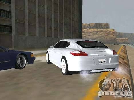 Porsche Panamera Turbo Tunable для GTA San Andreas вид слева