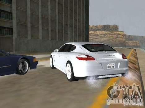 Porsche Panamera Turbo Tunable для GTA San Andreas вид слева