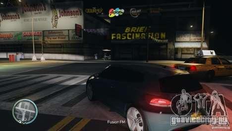 Coloured Radio HUD для GTA 4 пятый скриншот