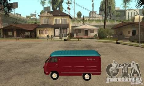 ЕРАЗ 762 В для GTA San Andreas вид слева