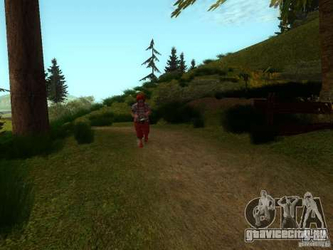 Crazy Clown для GTA San Andreas третий скриншот