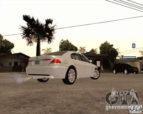BMW 760i для GTA San Andreas вид слева