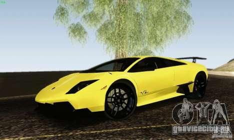 Lamborghini Murcielago LP 670-4 SV для GTA San Andreas вид слева