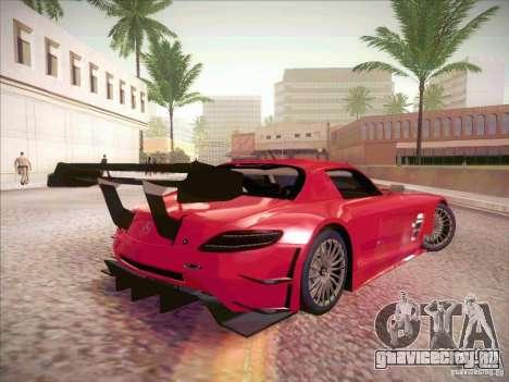 Mercedes-Benz SLS AMG GT-R для GTA San Andreas вид справа