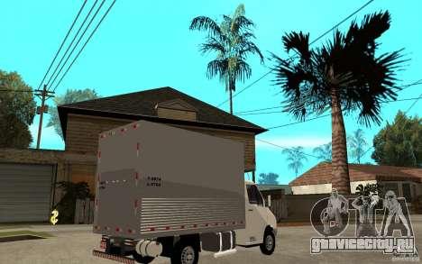 Mercedes-Benz Sprinter Truck для GTA San Andreas вид справа