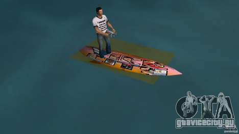 Surfboard 1 для GTA Vice City вид слева