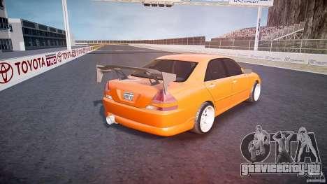 Toyota JZX110 для GTA 4 вид сверху