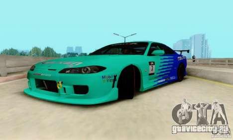 Nissan Silvia S15 Tunable для GTA San Andreas вид сбоку