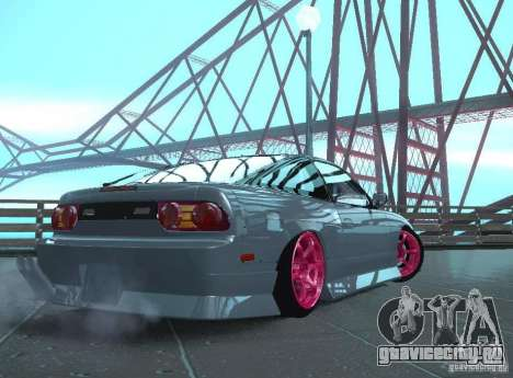 Nissan 240SX Team Top Flight для GTA San Andreas вид справа