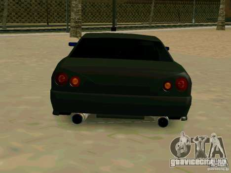 New Elegy для GTA San Andreas вид справа