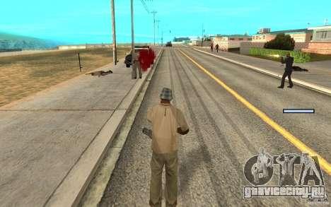 Охрана для Сиджея для GTA San Andreas пятый скриншот