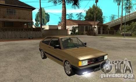 VW Gol GL 1.8 1989 для GTA San Andreas вид сзади