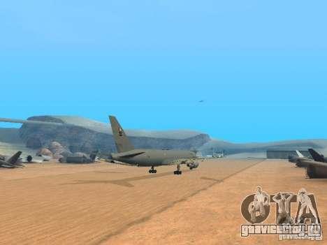 Boeing KC767 U.S Air Force для GTA San Andreas вид справа