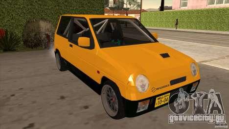Suzuki Alto Euro для GTA San Andreas вид сзади