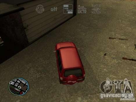 RADIO HUD IV 3.0 для GTA San Andreas третий скриншот