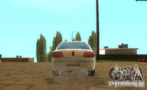 Opel Omega B 1997 для GTA San Andreas вид справа