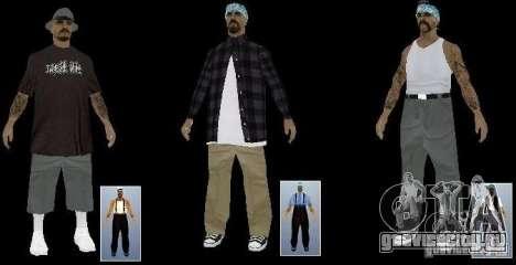 Новые скины The Rifa gang для GTA San Andreas