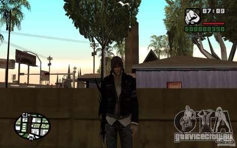 Alex Mercer для GTA San Andreas второй скриншот