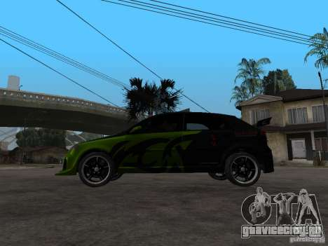 Chevrolet Lacetti Tuning для GTA San Andreas вид слева