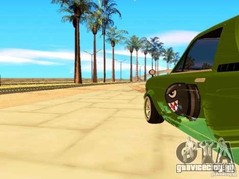 Nissan Sunny K Truck FISH ART для GTA San Andreas