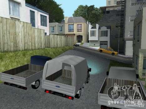 Ford Transit 2005 для GTA San Andreas вид слева