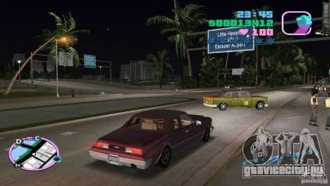 Idaho HD для GTA Vice City вид сзади слева