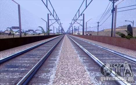 Русская ЖД модификация v1.0 для GTA San Andreas