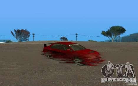 ENB Realistic Water для GTA San Andreas