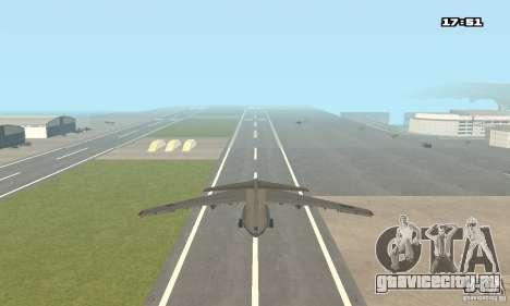 Ильюшин Ил-76 МД для GTA San Andreas вид слева