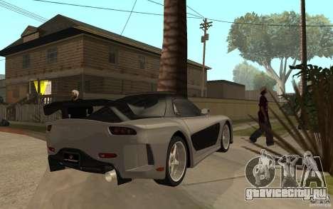 Mazda RX 7 VeilSide Fortune v.2.0 для GTA San Andreas вид справа